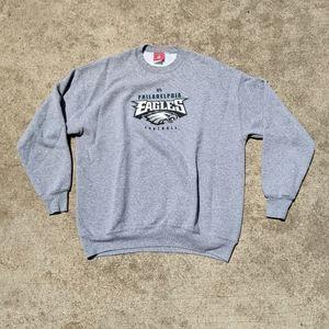 NFL Philadelphia eagles football grey sweater gray